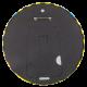 Batman Yellow and Black Stripes button back Entertainment Button Museum