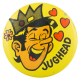 Jughead Yellow Entertainment Button Museum