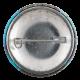 Leonard McCoy Star Trek button back Entertainment Button Museum