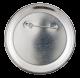 Marilyn Monroe button back Entertainment Button Museum