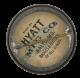 Star Of Vaudeville Charmion button back Entertainment Button Museum