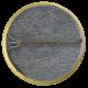 Superman Gold button back Entertainment Button Museum