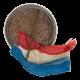American Legion Ribbon button back Club Button Museum
