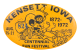 Kensett Iowa Centennial Fun Festival Event Button Museum