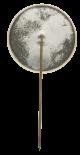 North Dakota Flax button back Innovative Button Museum