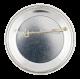 Skokie Spirit button back Events Button Museum