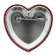 Official Hug Tester button back I heart Button Museum