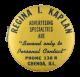 Parisian Novelty Company Regina I. Kaplan button back Innovative Button Museum