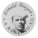 Ronald Reagan a Real Yo-Yo button back Innovative Button Museum