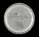 Brass Plum Sha-Boom button back Music Button Museum