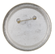 I am an Engel-holic button back Music Button Museum