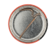 John Ashton Psychedelic Furs button back Music Button Museum