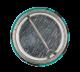 Split Enz Waiata Blue button back Music Button Museum