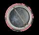 Split Enz Waiata Pink button back Music Button Museum