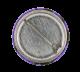 Split Enz Waiata Purple button back Music Button Museum