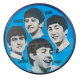 The Beatles Flasher Music Button Museum