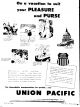 Advertisement for Union Pacific Railroad May 11, 1952 (Salt Lake Tribune)