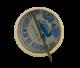 Dewey button back Political Button Museum
