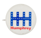 HHH Humphrey White Political Button Museum