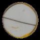 J Edgar Hoover Sleeps button back Political Button Museum