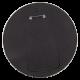 Jesse Jackson Color Portrait button back Political Button Museum