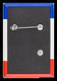 Joan Jett Blakk Red White and Blue back Political Button Museum
