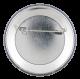 Joe Biden Long Hair button back Political Button Museum