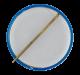 Kennedy Blue button back Political Button Museum