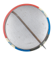 Kennedy button back Political Button Museum