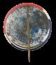 Minton Roosevelt Schricker button back Political Button Museum
