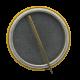 Nixon - Agnew button back Political Button Museum