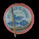 Roosevelt Garner button back Political Button Museum