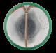 Vote Nader button back Political Button Museum