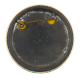 Martin Van Buren G.O. Spring 63 button back Schools Button Museum