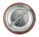 Bury Me Upside Down button back Social Lubricators Button Museum