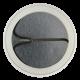 Hard Driver button back Social Lubricators Button Museum