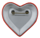 Our Heart Goes Out to You Button Flasher back Social Lubricator Busy Beaver Button Museum