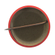This Cell's Buzzin' button back Social Lubricators Button Museum