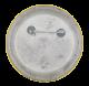 Graphic Communications International Union button back Smileys Button Museum