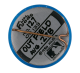 Bob Dernier Chicago Cubs button back Sports Button Museum