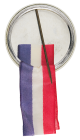Sonny Liston button back Sports Button Museum