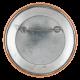 Super Bowl XX button back Chicago Button Museum