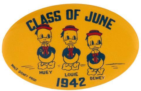 Disney Huey Dewey Louie Pinback Button