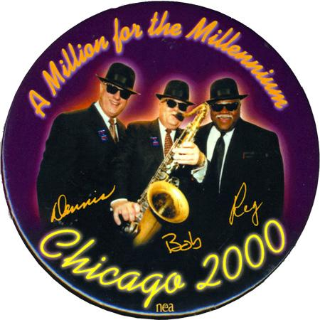 Chicago 2000 union/political button