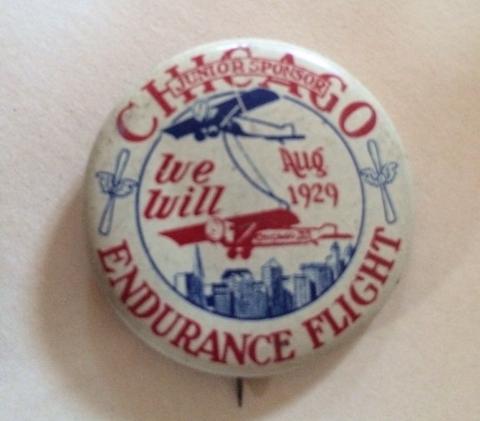 Chicago Endurance Flight - We Will Aug 1929