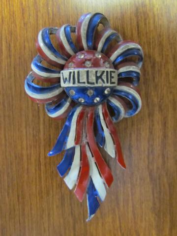 Rare Willkie Pin
