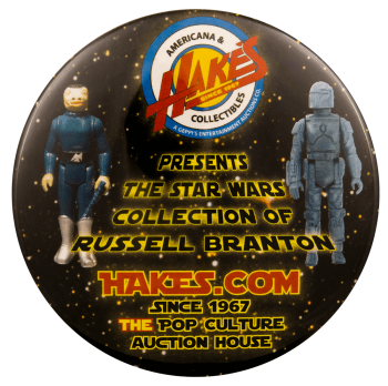 Hake Star Wars Collection of Russell Branton Advertisement Busy Beaver Button Museum