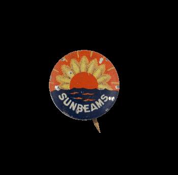 Sunbeams Sunflower Advertising Busy Beaver Button Museum