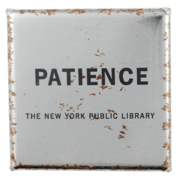 The New York Public Library Advertising Busy Beaver Button Museum