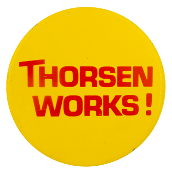 Thorsen Works Advertising Busy Beaver Button Museum